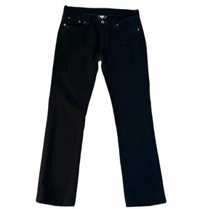 Lucky Brand Sundown Straight Black Jeans